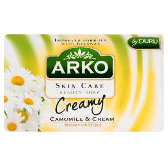 Arko Skin Care Rumianek i krem Mydło kosmetyczne 90 g