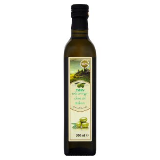 Tesco Oliwa z oliwek najwyższej jakości z pierwszego tłoczenia 500 ml