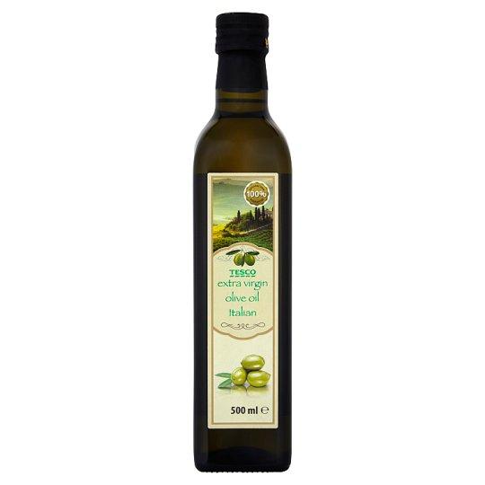 Tesco Italian Oliwa z oliwek najwyższej jakości z pierwszego tłoczenia 500 ml