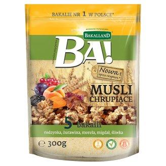 Bakalland Ba! Musli chrupiące 5 bakalii 300 g