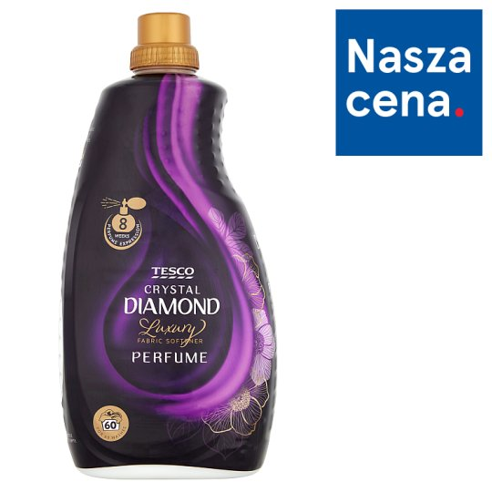 Tesco Luxury Crystal Diamond Perfume Fabric Softener 1.8 L (60 Washes)