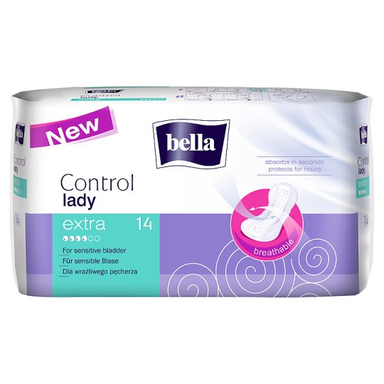 Bella Control Lady Extra Urological Pads 14 Pieces