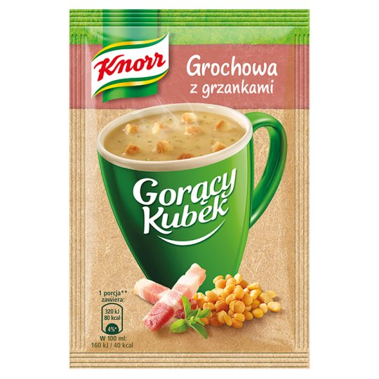 Knorr Gorący Kubek Pea Soup with Croutons 21 g