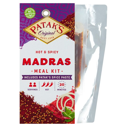 Patak's Zestaw Madras do przygotowania dania w stylu indyjskim 313 g