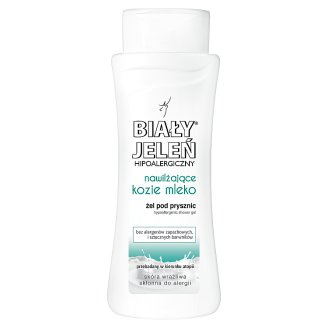 Biały Jeleń Moisturizing Goat Milk Hypoallergenic Shower Gel 300 ml