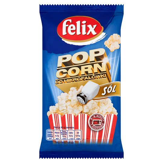 Felix Popcorn with Salt to the Microwave 90 g