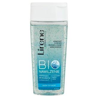Lirene Bio Nawilżenie Nawilżający żel micelarny z witaminą E 200 ml
