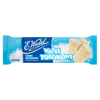 E. Wedel Torcikowe Wafers with Cream Flavour Filling 160 g