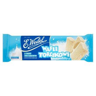 E. Wedel Wafle Torcikowe o smaku śmietankowym 160 g