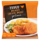 Tesco Breaded Chicken Breast 700 g