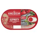 King Oscar Sprat in Tomato Sauce with Basil 170 g