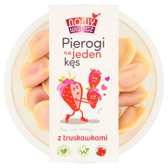 Nowy Wiśnicz Dumplings with Strawberry 350 g