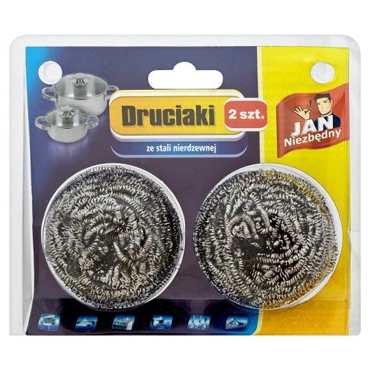 Jan Niezbędny Stainless Steel Wool 2 Pieces