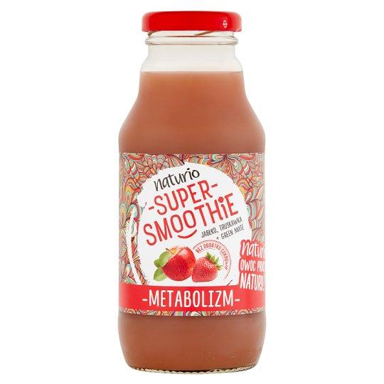 Naturio Super Smoothie Apple Strawberry + Green Mate Metabolism 330 ml