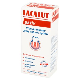 Lacalut Aktiv Mouthwash Liquid 300 ml