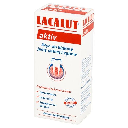 Lacalut Aktiv Mouthwash Liquid 300 ml