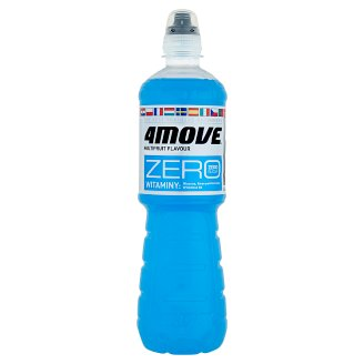 4Move Zero Multifruit Flavour Drink 0.75 L