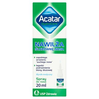 Acatar HydroCare Medical Product Nasal Spray 20 ml