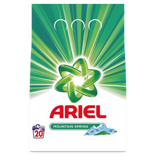 Ariel Mountain Spring Proszek do prania 1,5kg, 20prania