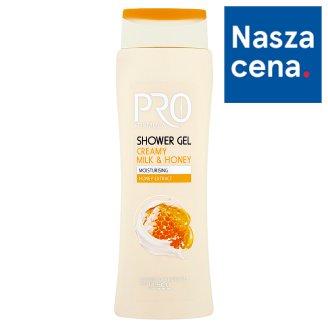Tesco Pro Formula Żel pod prysznic Milk & Honey 400 ml