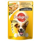 Pedigree Complete Food for Adult Dogs with Chicken and Lamb in Sauce 100 g