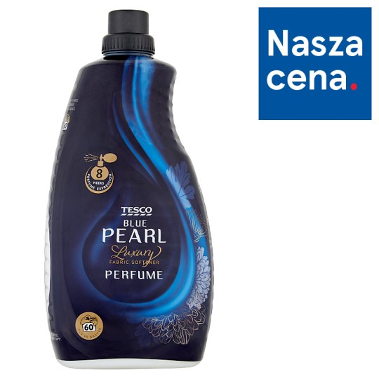 Tesco Luxury Blue Pearl Perfume Fabric Softener 1.8 L (60 Washes)