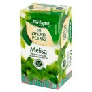 Herbapol Zielnik Polski Herbal Tea Lemon Balm 40 g (20 Tea Bags)