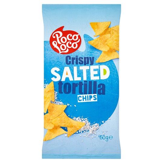 Poco Loco Crispy Salted Tortilla Chips 450 g