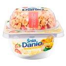 Danone ŚniaDanio Vanilla Flavour Durum Wheat with Honey and Strawberries Fromage Frais 135.5 g