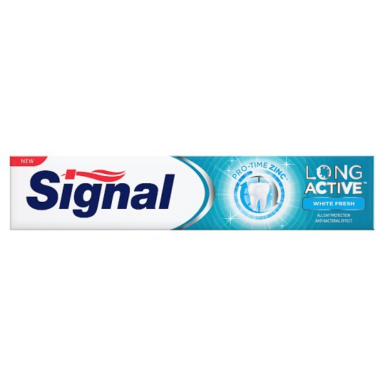 Signal Long Active White Fresh Pasta do zębów 75 ml