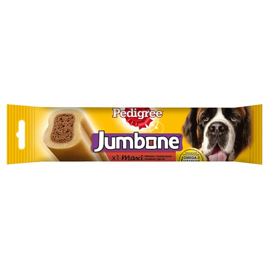 Pedigree Jumbone Maxi Supplementary Pet Food with Beef 210 g