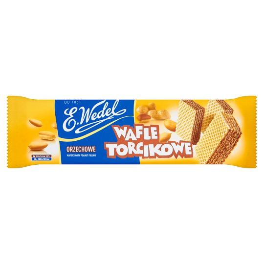 E. Wedel Torcikowe Wafers with Peanut Filling 160 g
