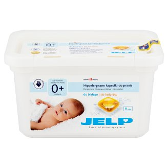 JELP Hipoalergiczne kapsułki do prania 264 g (11 x 24 g)
