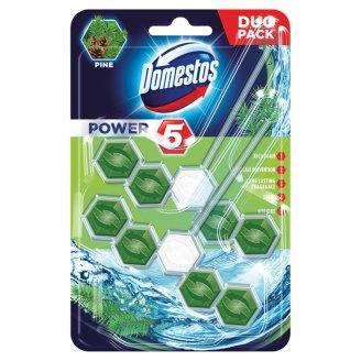Domestos Power 5 Pine Kostka toaletowa 2 x 55 g