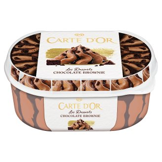 Carte D'Or Gelateria Chocolate Brownie Lody 900 ml