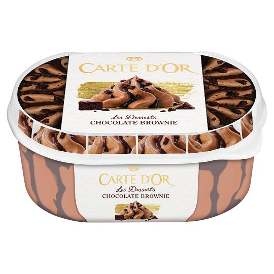 Carte D'Or Les Desserts Chocolate Brownie Ice Cream 900 ml