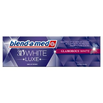 Blend-a-med 3D White Luxe Glamorous White Pasta do zębów 75ml