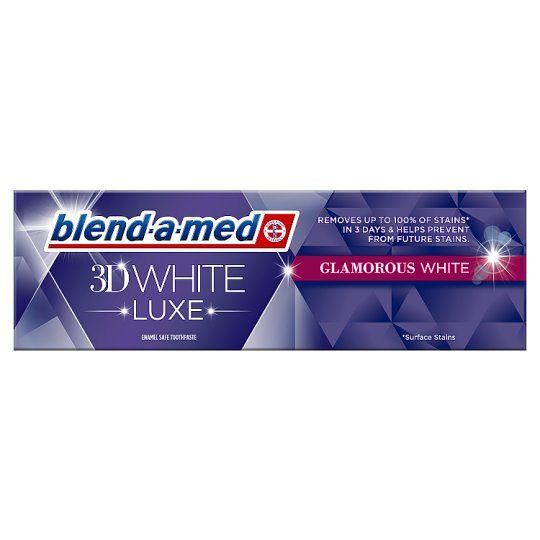Blend-a-med 3D White Luxe Pasta do zębów 75ml, Glamorous White