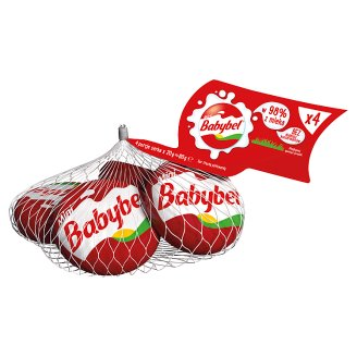 Mini Babybel Cheeses 80 g (4 Pieces)