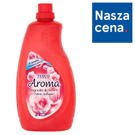 Tesco Aroma Magnolia & Desire Fabric Softener 2 L (66 Washes)