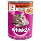Whiskas Adult Complete Cat Food with Turkey in Jelly 400 g