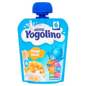 Nestlé Yogolino Deserek owocowo-mleczny mango banan po 6 miesiącu 90 g