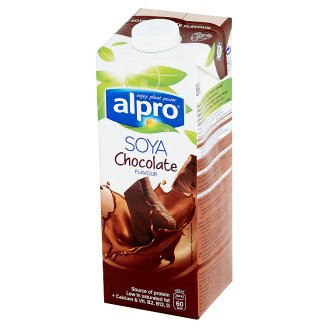 Alpro Chocolate Flavoured Soya Drink 1 L