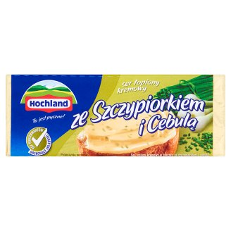 Hochland Creamy Cheese Spread with Onion and Chives 100 g