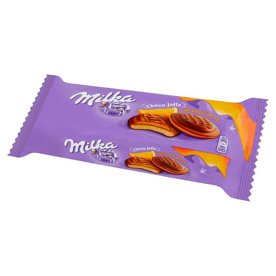 Milka Choco Jaffa Sponge Cakes with Orange Flavoured Jelly Topped with Chocolate 147 g