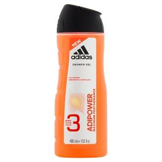 Adidas Adipower Żel pod prysznic dla mężczyzn 3 w 1 400 ml