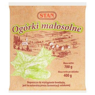 Stan Low-Salt Pickled Cucumbers 700 g