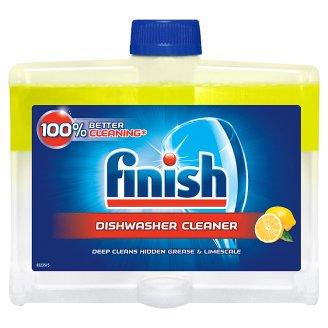 Finish 5x Power Actions Płyn do czyszczenia zmywarki cytrynowy 250 ml
