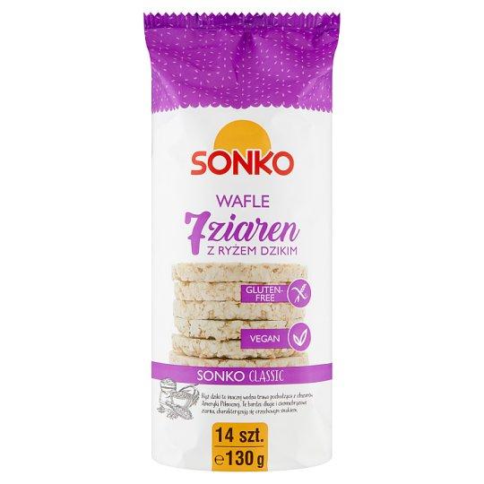 Sonko 7 Grain Rice Cakes with Wild Rice 130 g