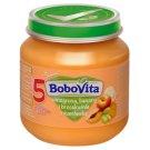 BoboVita Winogrona banany i brzoskwinie z marchewką po 5 miesiącu 125 g